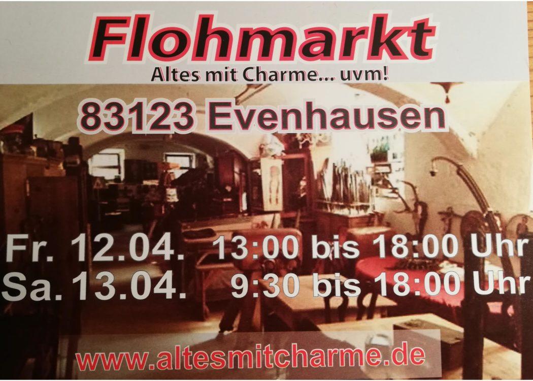 Flohmarkt-Flyer